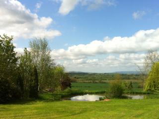 Cherry Blossom & Cotswold View