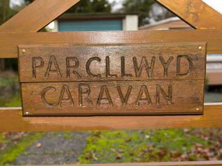 Parcllwyd Caravan in Semi Rural Pembrokeshire, new modern Caravan
