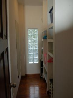 walk-in wardrobes , wooden floors