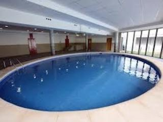 This is the heated indoor pool, the facility also has a jacuzzi tub, changing rooms and showers