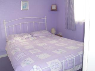Our Double room with New bed for this season and new allergy free bedding provided at no extra cost!