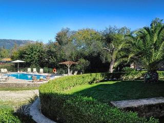 Garden & Pool at St. Nicholas House & Guest Apart.