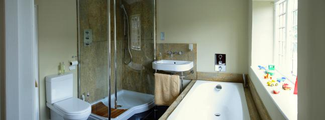 Family Bathroom and Shower / En suite to Bedroom Two