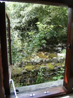 View from the annex window over Torver beck