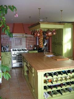 The ladies will love our designer French style kitchen!  We can organise meals for you too!