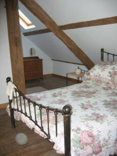 One of the beautiful double bedrooms.