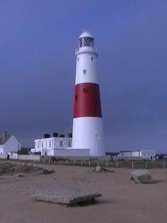 The lighthouse at Portland Bill is open to the public.