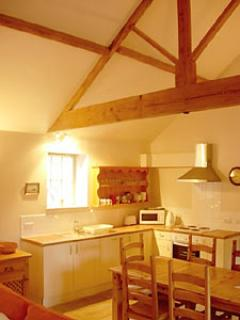 The Old  Dairy kitchen and dining area