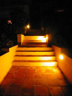 Night stairs