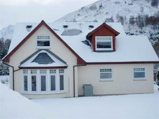 Kinloch Lodge Glencoe in winter, Cosy, Perfect, NEW and very high standard, simply 5 Star