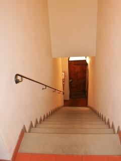 stairs to the apt