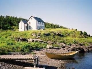 Quoyle's House in L'Anse aux Meadows area, St Lunaire-Griquet