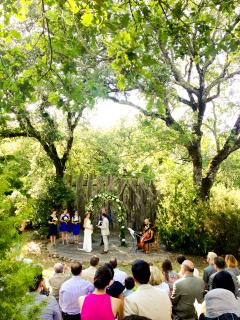 Our Amphitheatre is a perfect place to host a wedding celebration