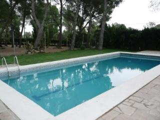 CHALET /VILLA 3 aire acondicionado wifi piscina, L'Ametlla de Mar