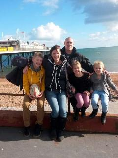 The Barnett family from Watford