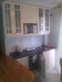 Lovely new kitchen area