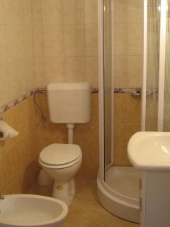 a bathroom on the ground floor