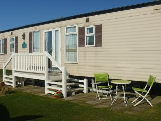 80015 waterways at Hopton Holiday village 8 berth caravan to hire by the beach., Hopton on Sea