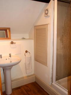 En suite bathroom in the Coach House
