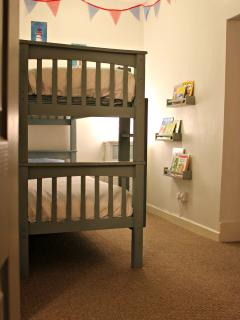 Bedroom 2, children's area