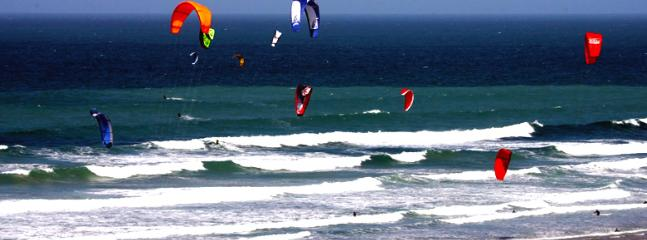 kiteboarding just one of the many activities you can enjoy at the beach - lessons available