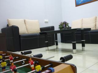 Living & entertainment area