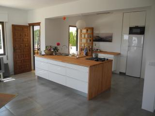 Open kitchen with connection to the terasse