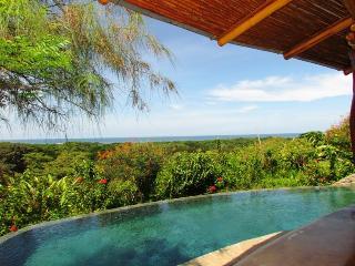 Infinity pool with ocean views