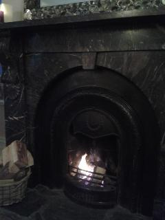 Autumn nights, cosy by the fire