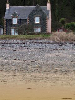 View of Auld Schoolhouse from Beach