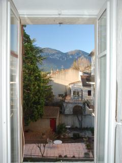 View from second floor bedroom