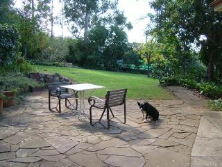 Relax in the garden terrace