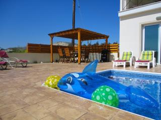 Enjoy the sun in our huge garden and pool area