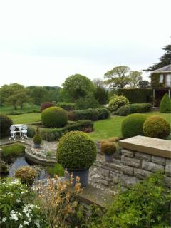 Curwen Woods garden, a Thomas Mawson garden