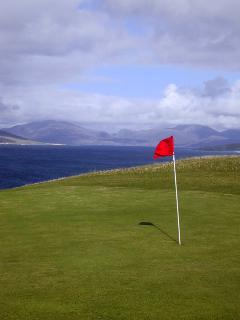The Harris golf course