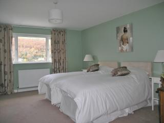 Bedroom 1 - Front Master bedroom with en-suite and stunning views of open countryside