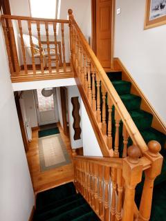 Stairway/ Reception Area