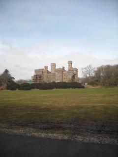 The Iconic Lewis Castle in it's own fantastic grounds - site of the Music Festival in July.