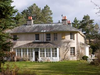 Inshriach House, Edwardian Manor House in Cairngorms national park.