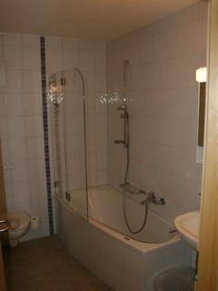 Bathroom 1 with shower & bath,  One Les Cimes, Thyon Les Collons