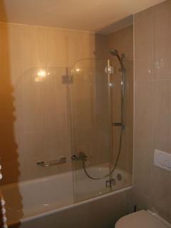 Bathroom 2 with shower & bath,  One Les Cimes, Thyon Les Collons