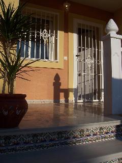 Verandah/front of the house.