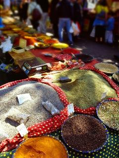 Local market each day of the week