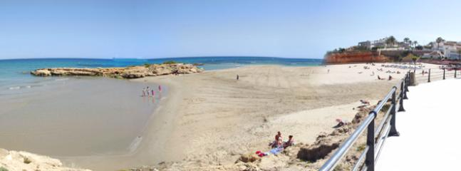 Beautiful La Zenia beach - 12 minutes' walk from the house. Very shallow, great for young child
