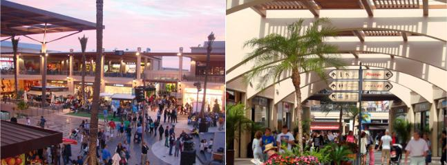 Zenia Boulevard - lots of stores, restaurants, children's play area. 5 mins walk from house