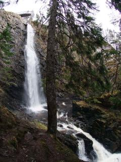 Dog Falls at Cannich