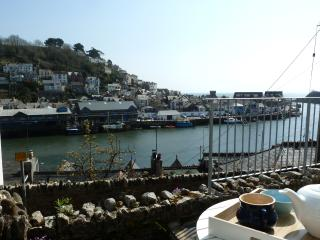 From the terrace overlooking fishing port