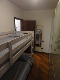 Second room with bunkbed