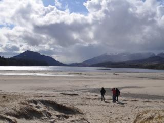 Loch Laggan 'beach' perfect for walks