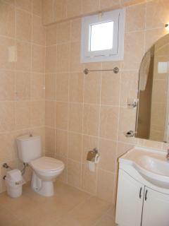 Family bathroom - it does have a shower honest!
